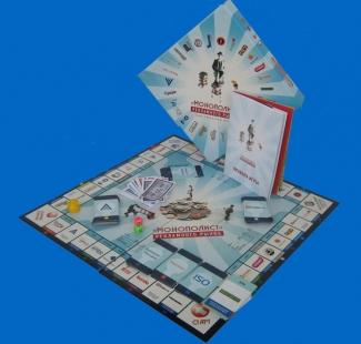 настольные игры на заказ, МОНОПОЛИСТ РЕКЛАМНОГО РЫНКА, AGENCY ASSESSMENTS  INTERNATIONAL